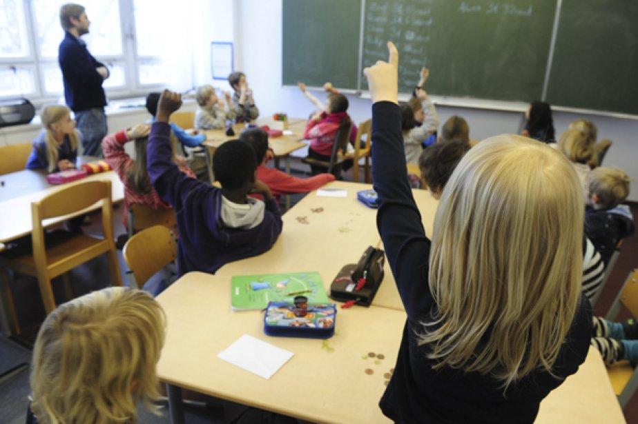 Les cibles de réussite que le ministère de l'Éducation impose... (Photo AFP)