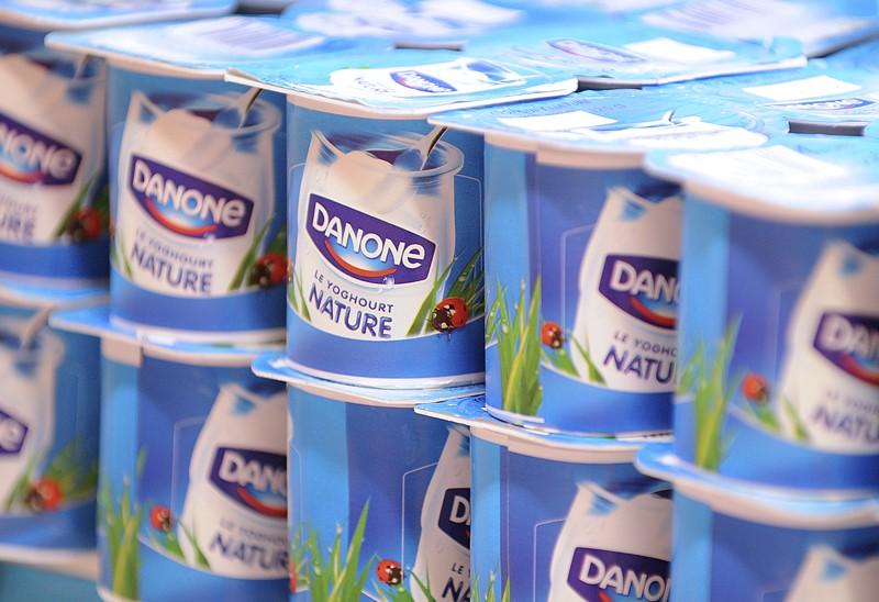 Danone, leader incontesté du yogourt, continue d'accroître sa... (Photo Antoine Antoniol, Bloomberg)