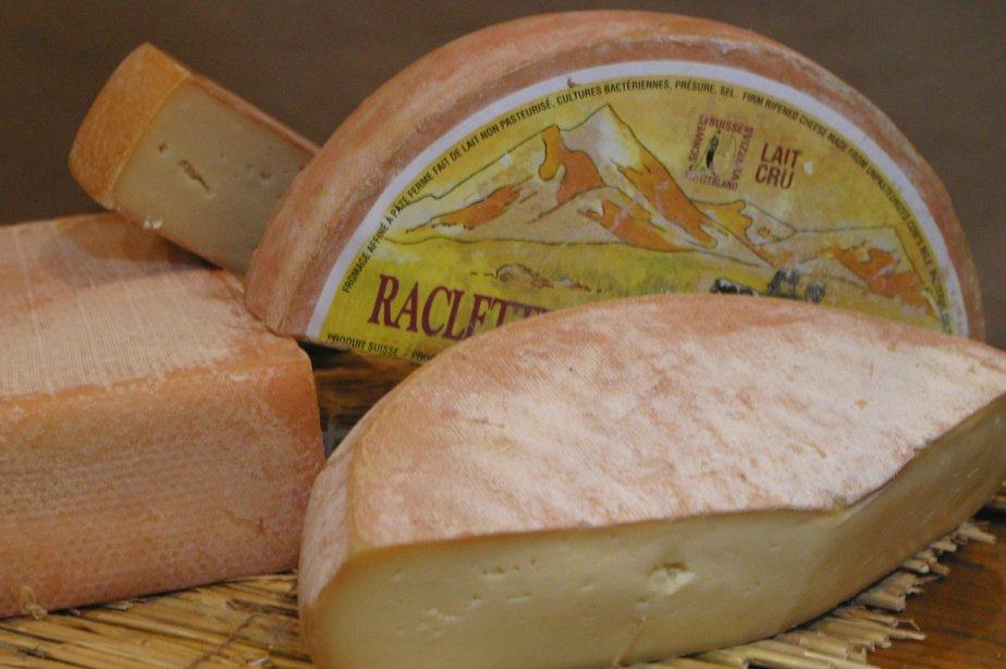Divers fromages à raclette... (Photo: archives La Presse)