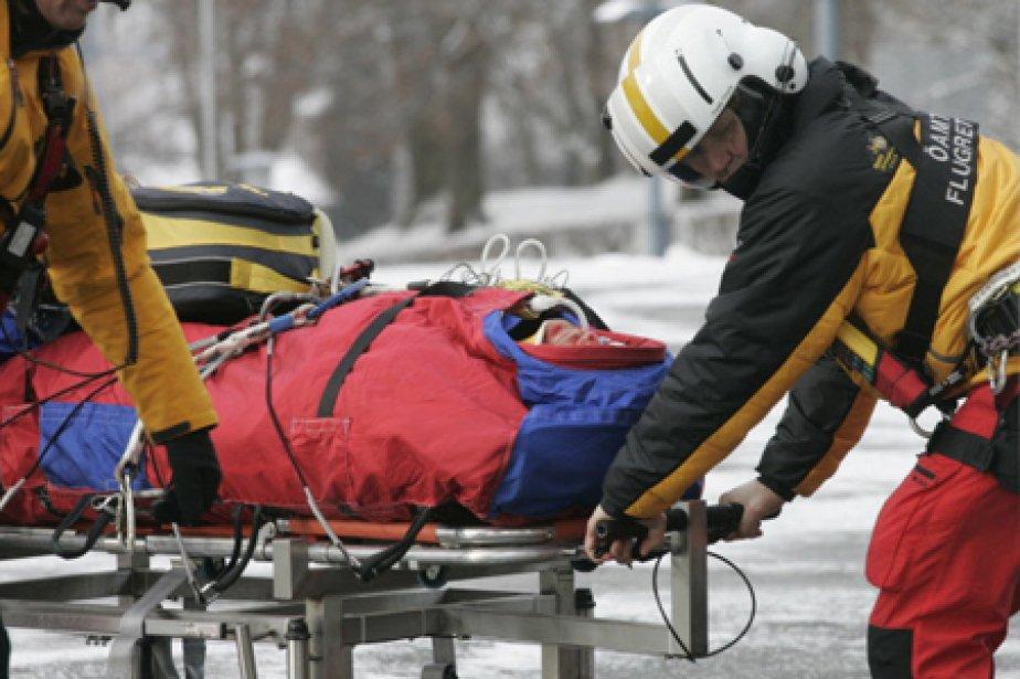 Hans Grugger a été gravement blessé le 20... (Photo: Reuters)