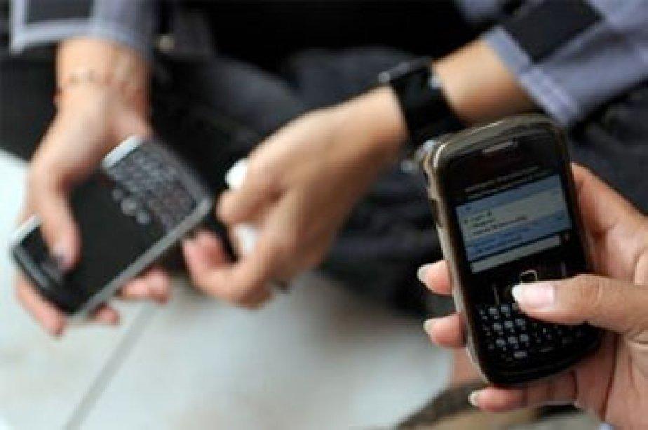 Gartner prévoit que les ventes de téléphones intelligents... (Photo: AFP)