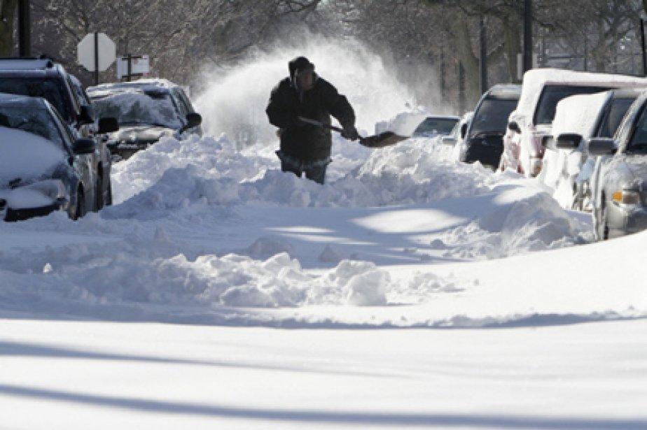 Des alertes à la tempête de neige ont... (Photo: John Gress, Reuters)