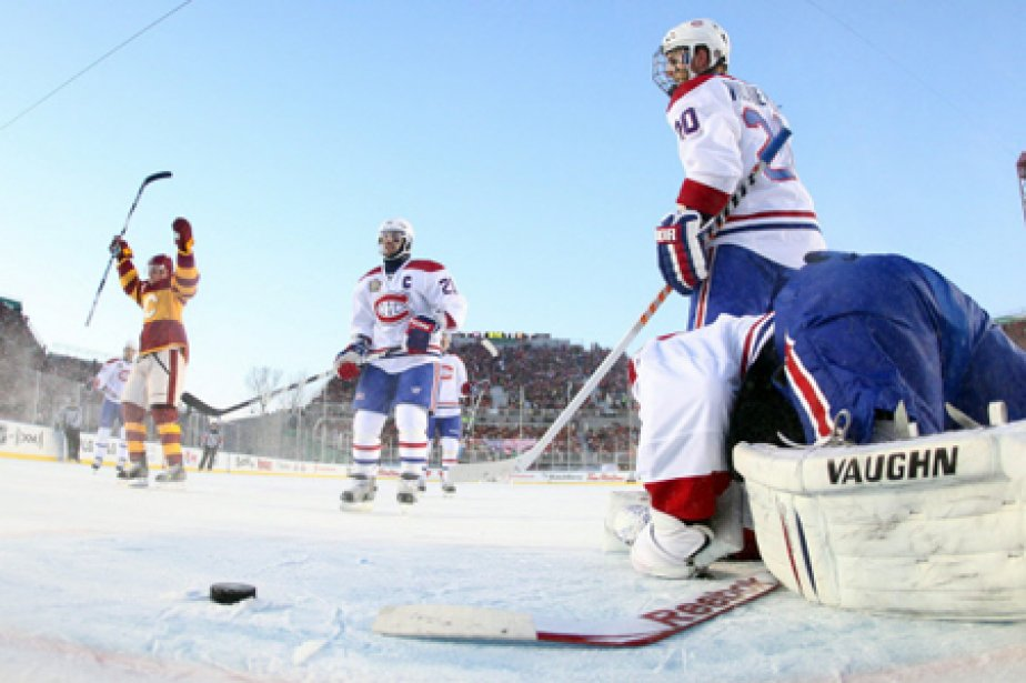 Le Canadien a marqué seulement trois buts lors... (Photo: PC)