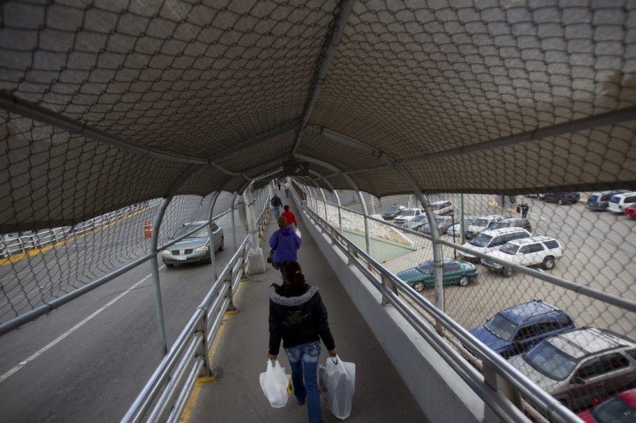 Ciudad Juarez.... (Photo: Ivanohe Demers, La Presse)