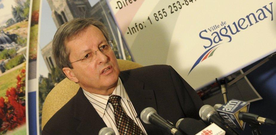 Le maire de Saguenay, Jean Tremblay, s'est dit... (Photo archives)