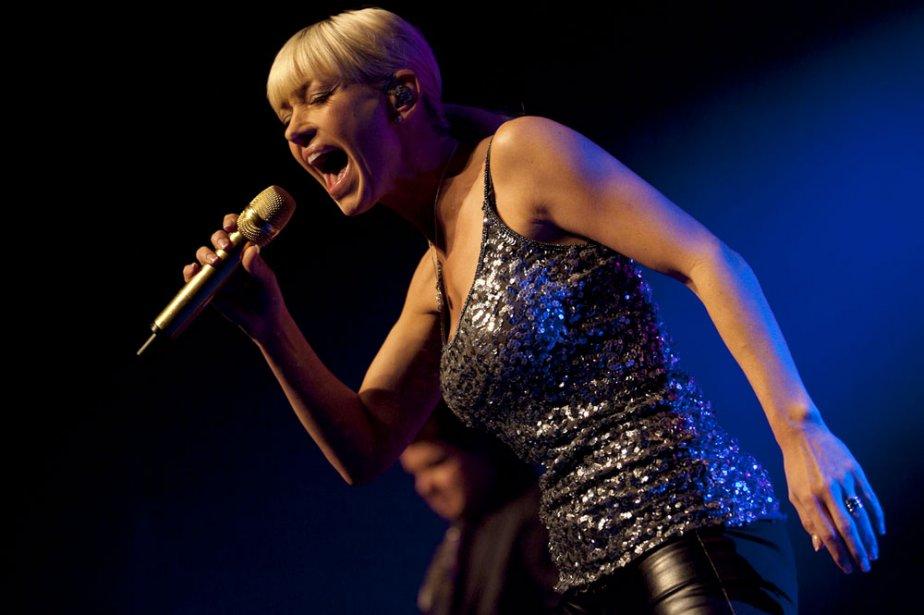 Marie-Chantal Toupin n'essaie plus d'avoir l'air rockeuse: elle... (Photo: Olivier Pontbriand, collaboration spéciale)