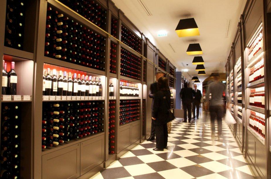 Bordeaux attend avec impatience l'ouverture début 2015 de... (Photo: fournie par les Galeries Lafayette)