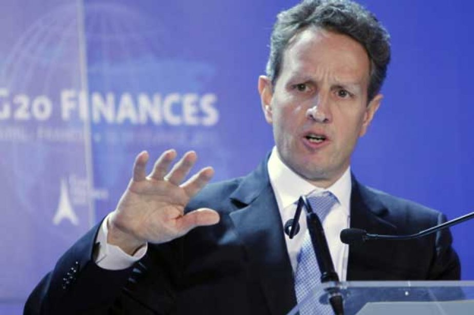 Le secrétaire du Trésor américain Timothy F. Geithner.... (Photo Associated Press)