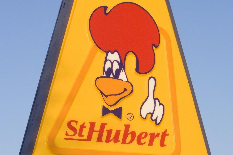 Le logo des Rôtisseries Saint-Hubert... (Photo: Alain Roberge, archives La Presse)