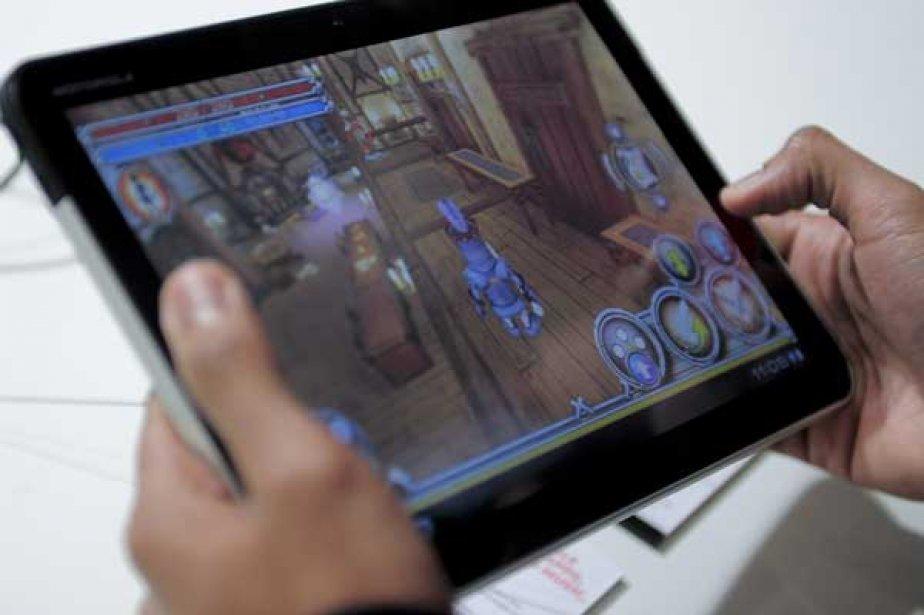 La tablette Xoom de Motorola.... (Photo AFP)