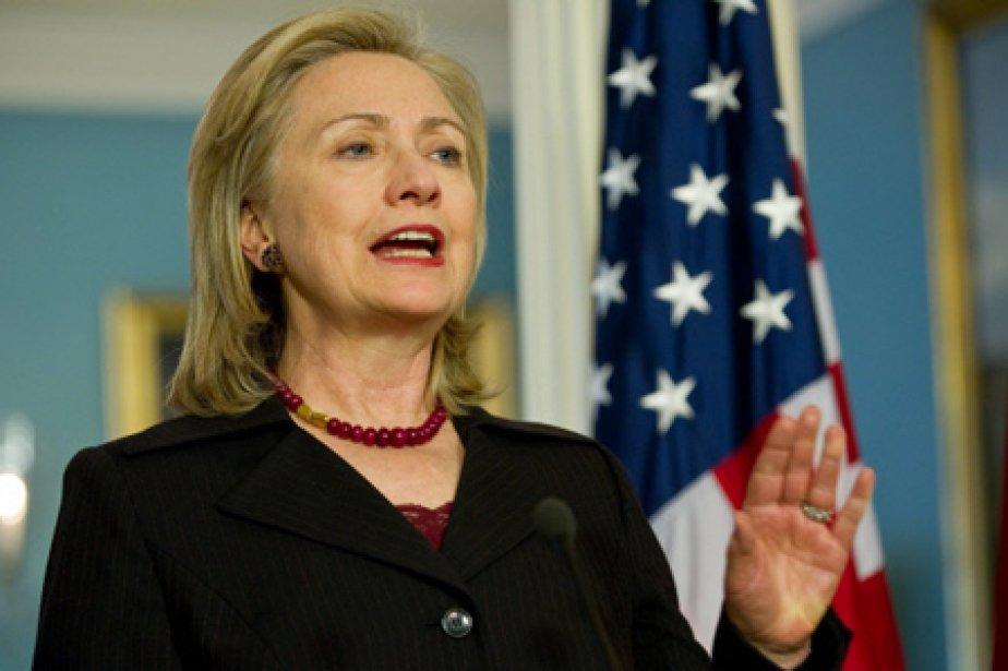 La secrétaire d'État américaine Hillary Clinton.... (Photo: AFP)