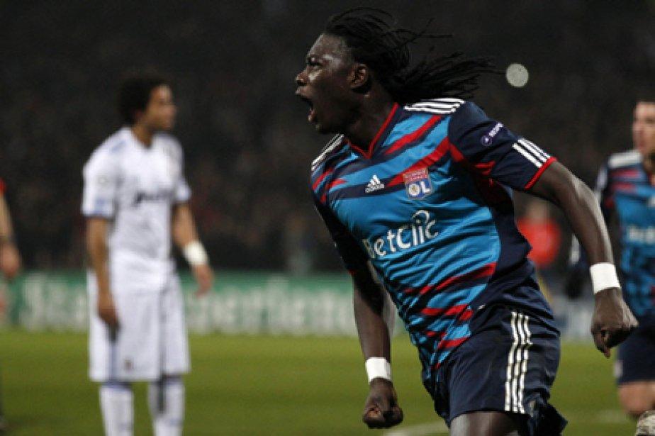 Bafetimbi Gomis a marqué à la 83e minute... (Photo: Reuters)