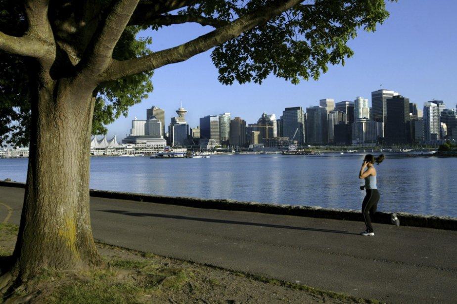 Vancouver, vu du parc Stanley. Pour la cinquième... (Photo: Archives Reuters)
