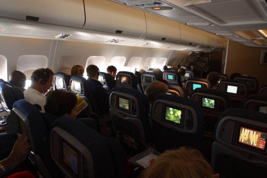 L'intérieur d'un avion... (Photos.com)