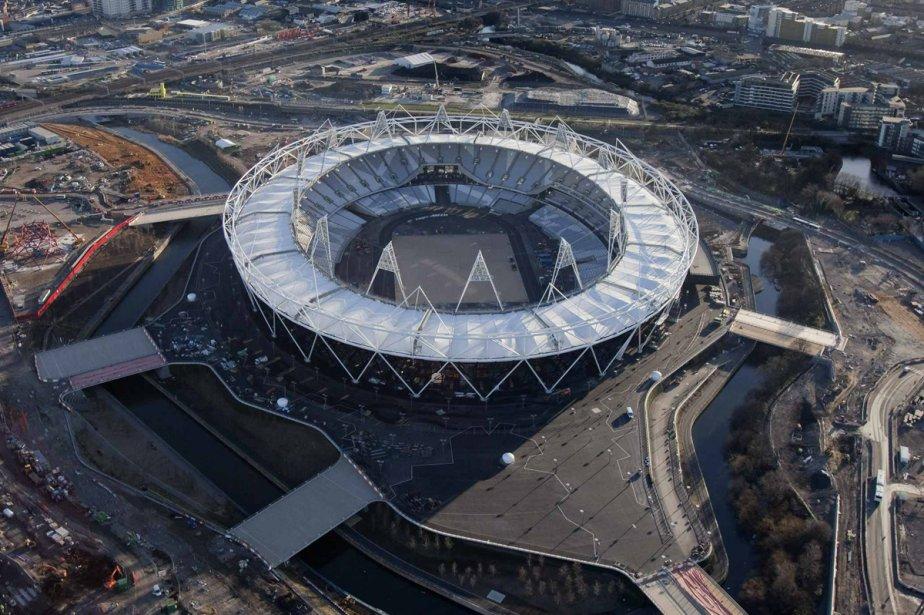 Le stade olympique, à Londres... (Photo: Reuters)
