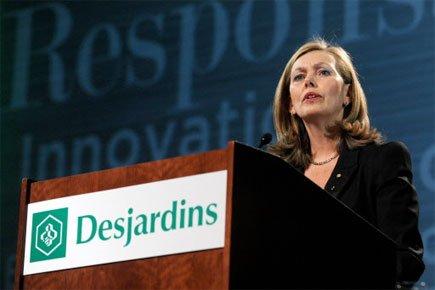 Monique Leroux, présidente du Mouvement Desjardins.... (Photo: Érick Labbé, Le Soleil)