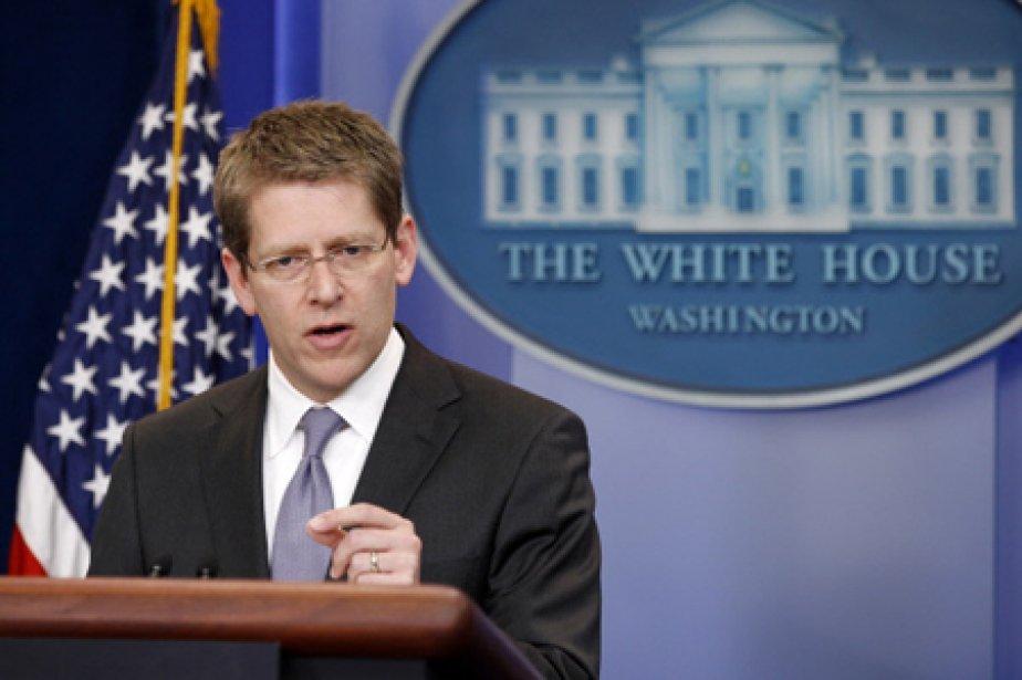 Le porte-parole de la Maison-Blanche, Jay Carney.... (Photo: Reuters)