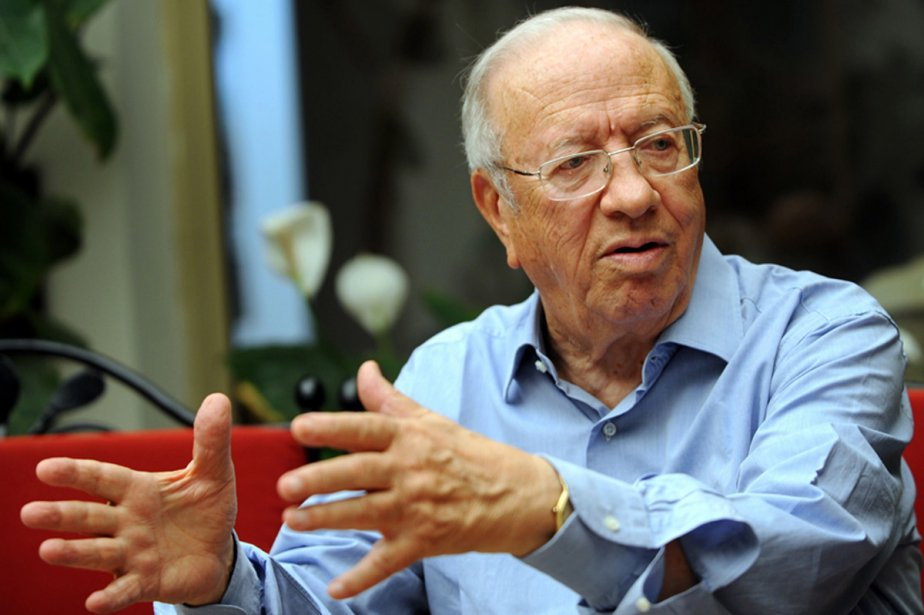 Béji Caïd Essebsi a pris, à 84 ans,... (Photo: archives AFP)