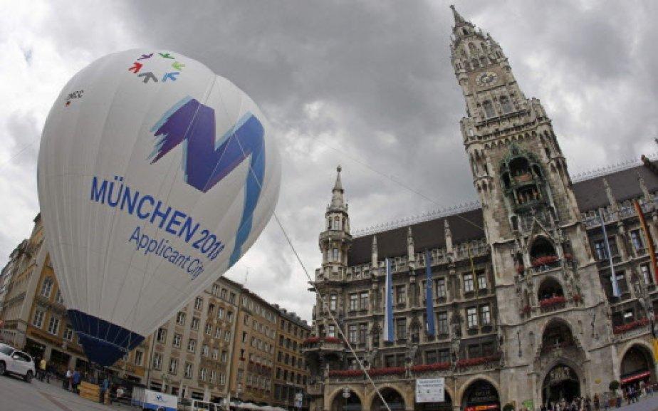 Munich est l'une des trois villes candidates à... (Photo: AP)
