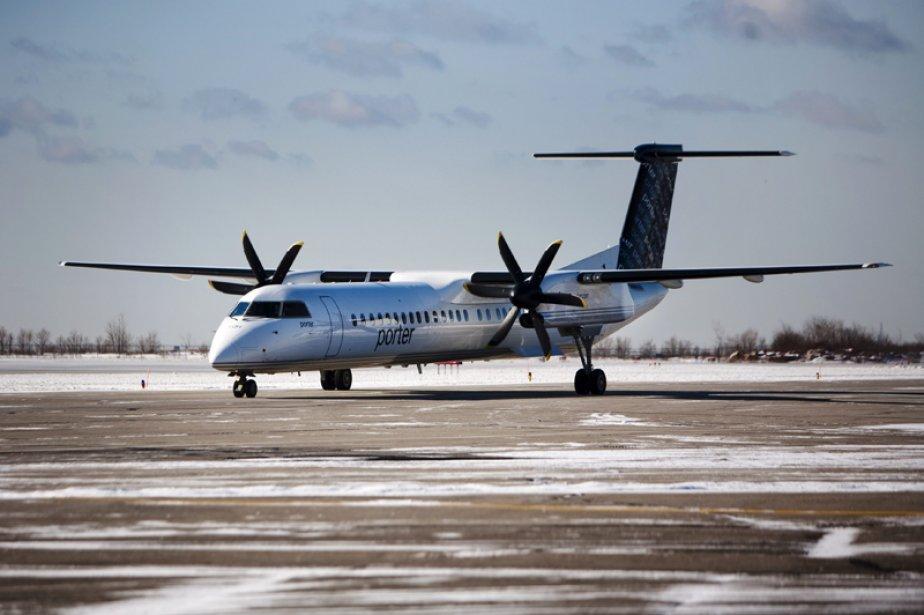 Très présente dans le triangle Montréal-Toronto-Ottawa, Porter Airlines,... (Photo Mark Blinch, Archives Reuters)