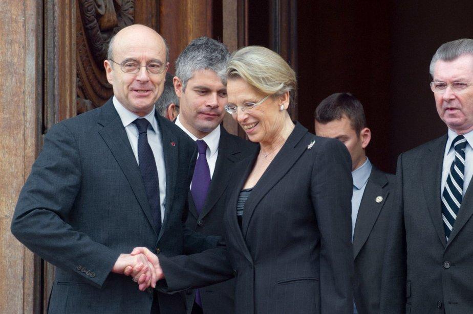Alain Juppé a pris la succession de Michèle... (Photo: AFP)