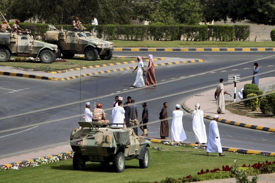 L'armée s'est déployée dans le Sultanat d'Oman, dont... (Photo: Reuters)