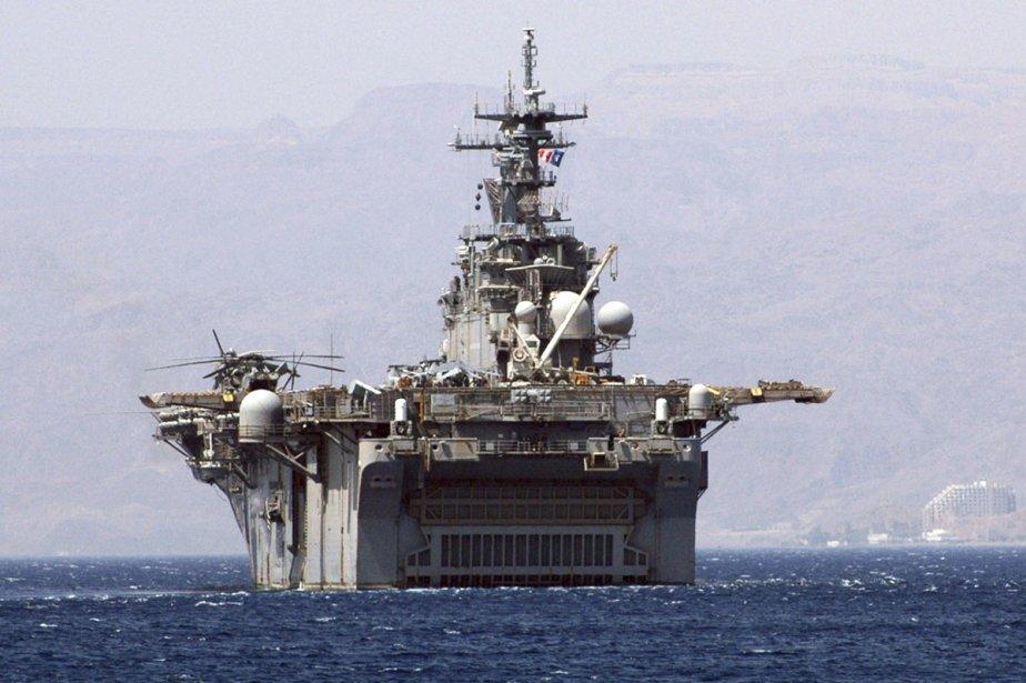 L'USS Kearsarge.... (Photo: archives Reuters)