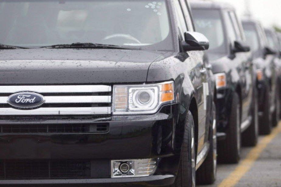 Ford a affirmé que ses ventes de février... (Photo: PC)