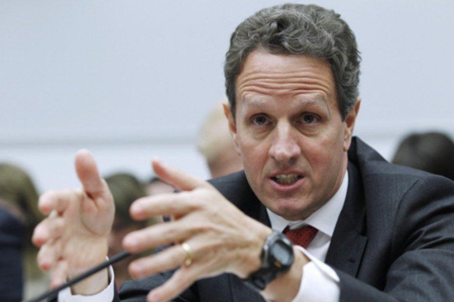 Le secrétaire au Trésor américain, Timothy Geithner.... (Photo: AP)