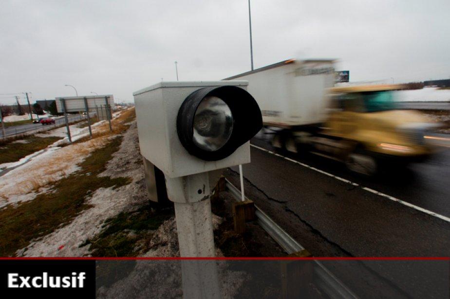 Avec 90% des excès de vitesse signalés, les... (Photo: Martin Chamberland, archives La Presse)