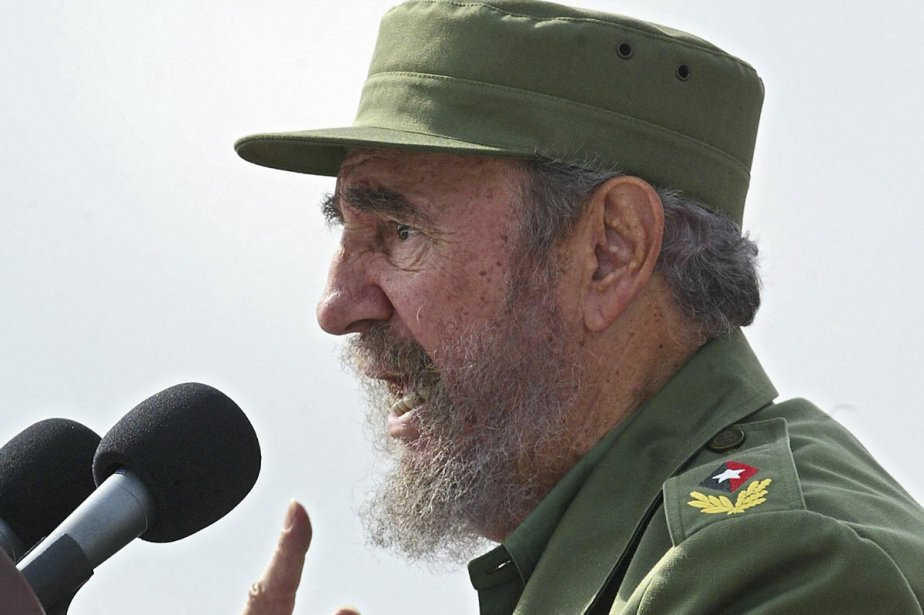 Fidel Castro... (Photo: archives AFP)