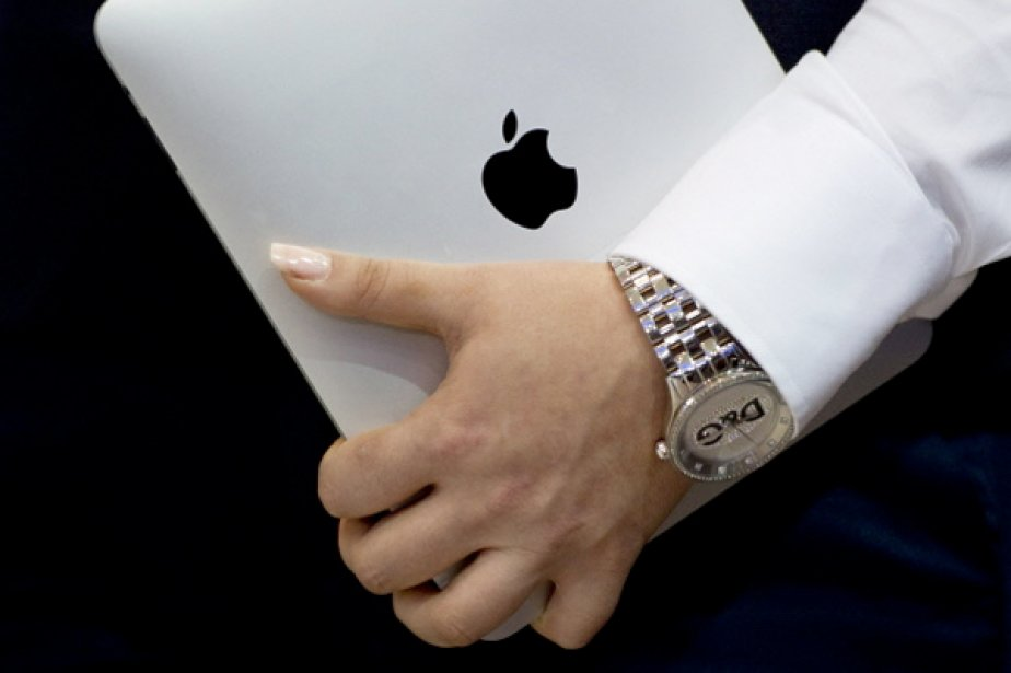 Un iPad... (Photo: AFP)
