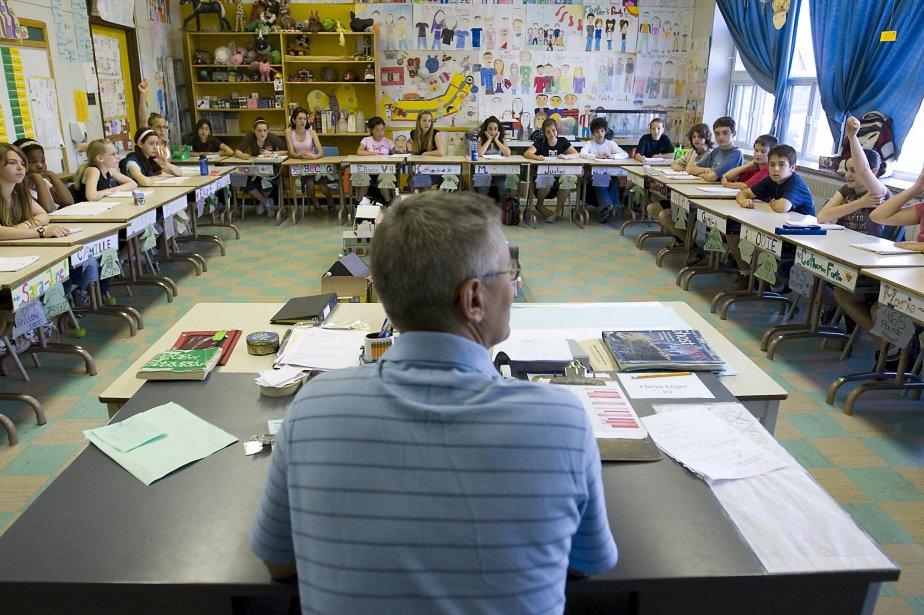 Avec l'immersion anglaise, les élèves de 6e année... (PHOTO: FRANÇOIS ROY, ARCHIVES LA PRESSE)