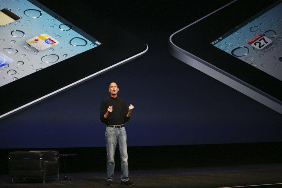 Le PDG d'AppleSteveJobsatenuàdévoiler lui-même les détails du nouvel... (PHOTO KIMIHIRO HOSHINO, AGENCE FRANCE-PRESSE)