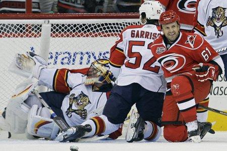 Les Panthers, hôtes du Canadien ce soir, ont... (Photo: AP)