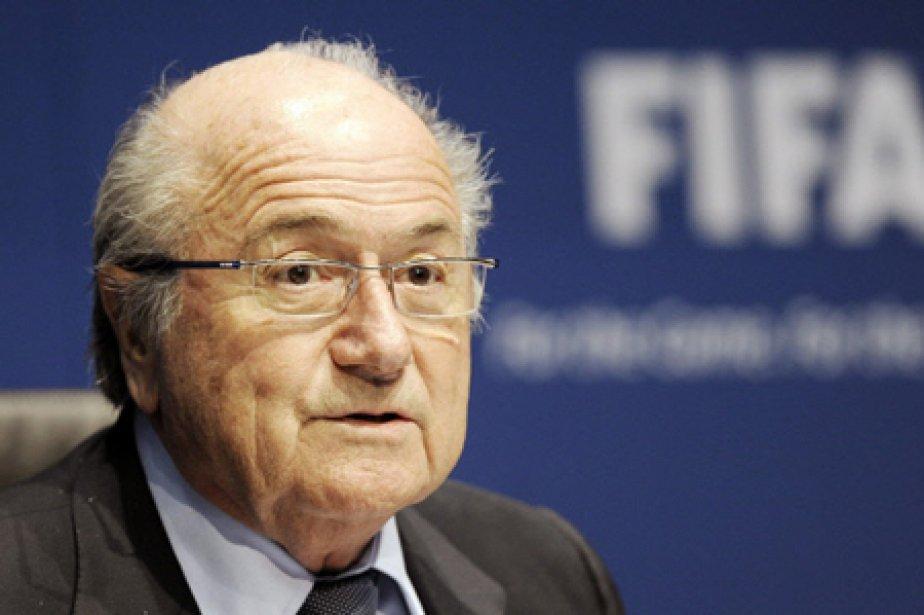 Le président de la FIFA, Joseph Blatter.... (Photo: AP)