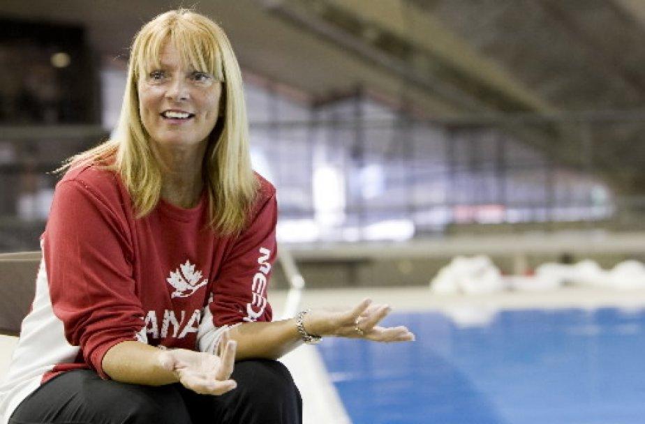 L'entraîneure de l'équipe canadienne de nage synchronisée, Julie... (Photo: archives La Presse)