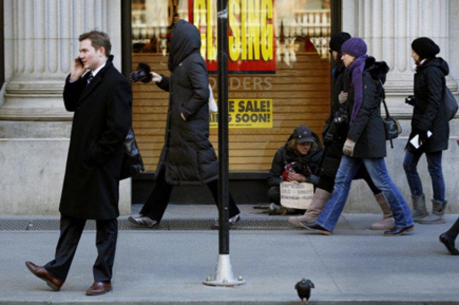 Pour 56% des personnes interrogées, «la création d'emplois... (Photo: Lucas Jackson, Reuters)