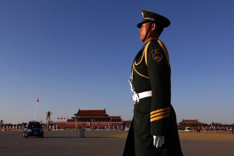 Place Tian An Men, à Pékin.... (Photo: AFP)