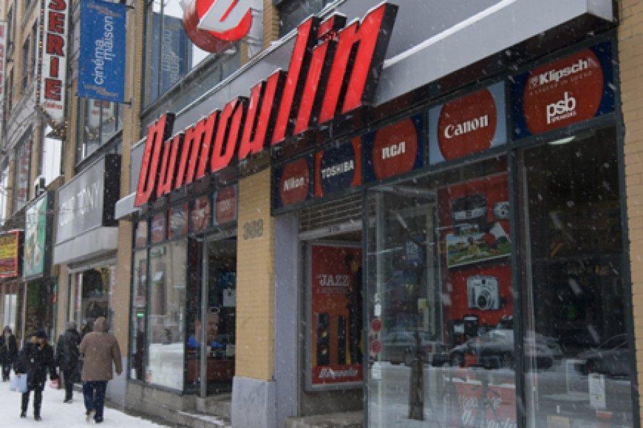 Le détaillant de produits électroniques Dumoulin, en... (Photo: La Presse)