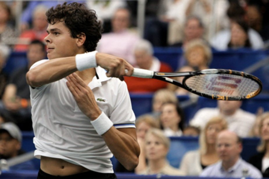 L'étoile montante du tennis canadien Milos Raonic va affronter le... (Photo: AP)