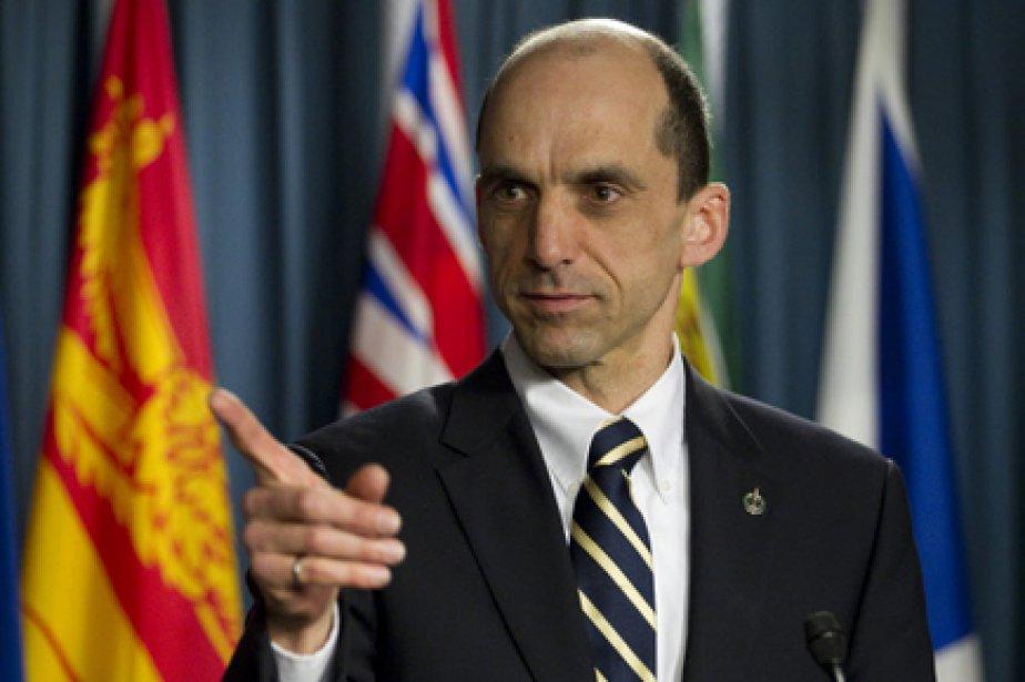 Le député conservateur québécois Steven Blaney ne croit... (Photo: Adrian Wyld, PC)