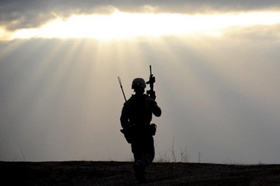 Un soldat américain a été condamné à 60 jours de... (Photo: Adek Berry, AFP)