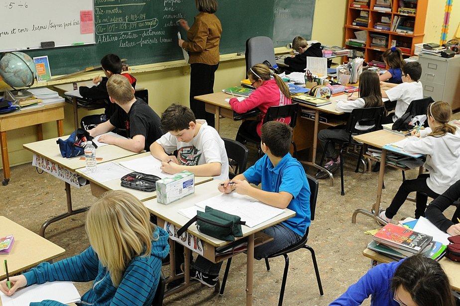 L'élève moyen n'existe plus vraiment. Dans les classes,... (PHOTO: ARCHIVES LE QUOTIDIEN)