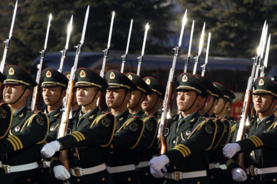 Le budget de la Défense de la Chine progresse de 12,7% en 2011, à... (Photo: AFP)