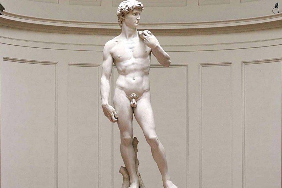 Le David de Michel-Ange, à Florence... (Photo: archives AFP)