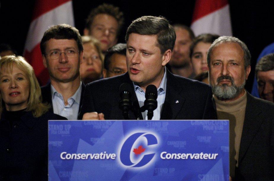 Le comportement du Parti conservateur, au beau milieu... (PHOTO: SIMON HAYTER, ARCHIVES GETTY IMAGES)