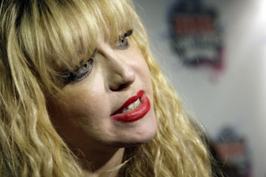 Courtney Love a diffusé vendredi un communiqué dans... (Photo: AP)
