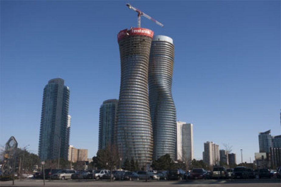 L'Absolute World Tower à Mississauga, en Ontario.... (Photo: PC)