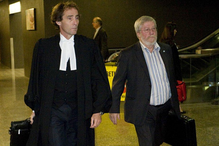 Rémi Deschambault, coaccusés de Vincent Lacroix dans l'affaire... (Photo: Ivanoh Demers, archives La Presse)